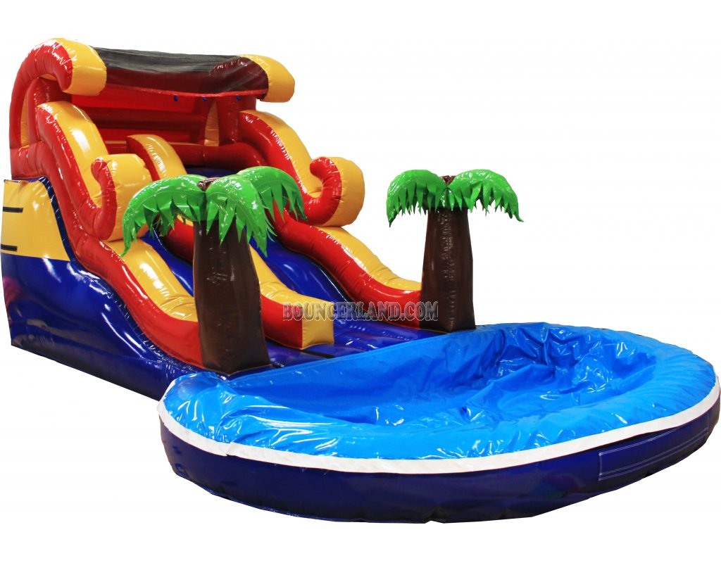 commercial inflatable water slide p2002 - Inflatable Water Slide