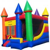 Inflatable Commercial Bouncy Combo 3010