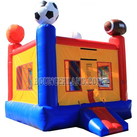 Inflatable Commercial Bounce House 1038