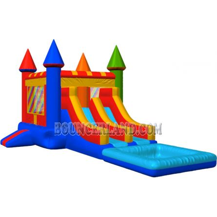Inflatable Commercial Bouncy Combo 3077