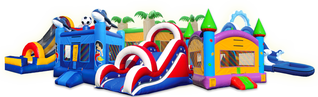 BouncerLand - bounce houses and inflatable slides. Bounce House for Sale.